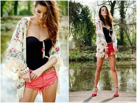 Cardigan Kimono Pattern Floral Cotton Linen Lookbook diy summer clothes ideas how to make a kimono jacket