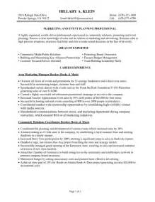 professional marketing resume best resume gallery
