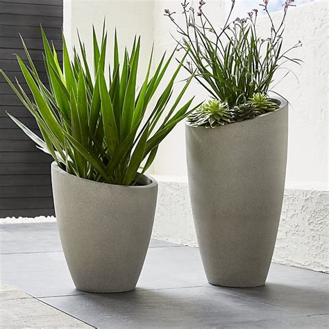 Jual Planter Bag Jakarta slant cement planters crate and barrel