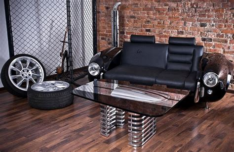 Car Office Desk Best Office Desks Made With Cars