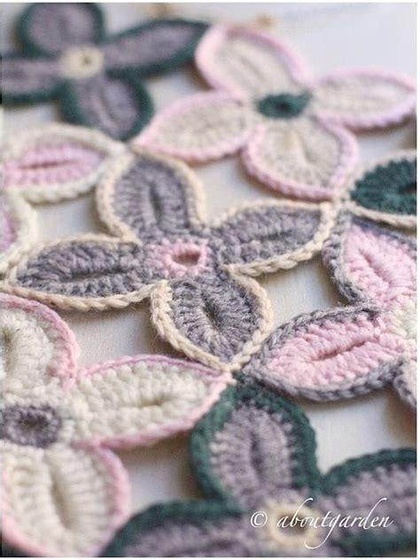 fiori a crochet oltre 25 fantastiche idee su copriletto all uncinetto su