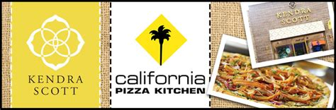 kendra and california pizza kitchen fundraisers