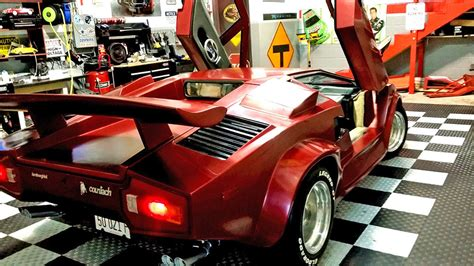 Lamborghini Kit Car Lamborghini Countach Fiero Kit Car On Ebay 95 Octane