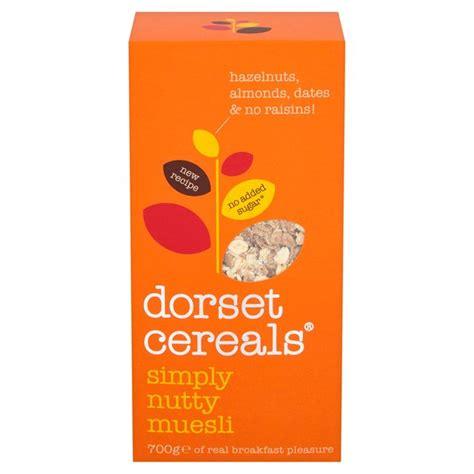 Free Lo Muesli Cereal 500g dorset cereals simply nutty muesli 700g from ocado
