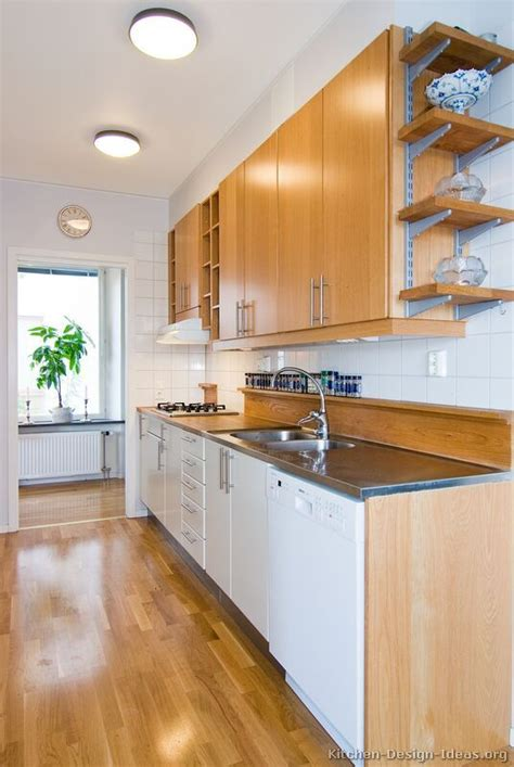 kitchen idea of the day modern galley kitchen with two