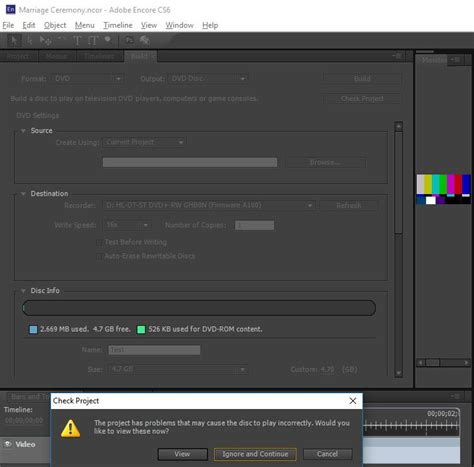 adobe encore cs6 content