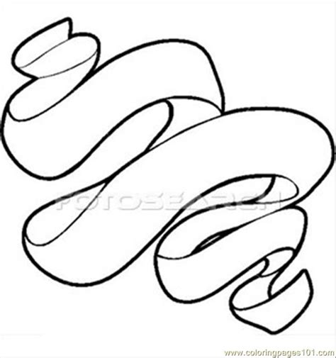 coloring page ribbon ribbon free coloring pages on art coloring pages