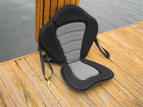 removable canoe seat new deluxe molded foam kayak seat with removable storage