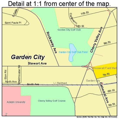 Where Is Garden City by Garden City New York Map 3628178