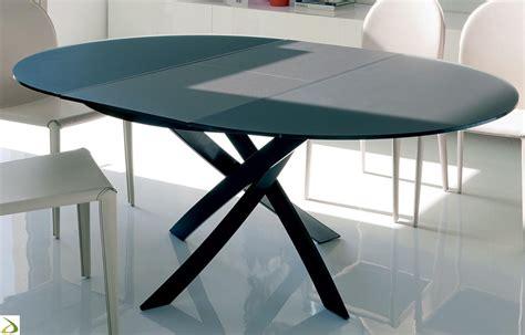 tavolo ovale allungabile tavolo rotondo barone di bontempi arredo design