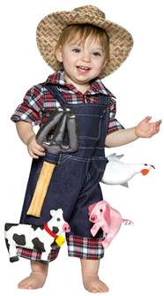 halloween farmer costume click for a larger image