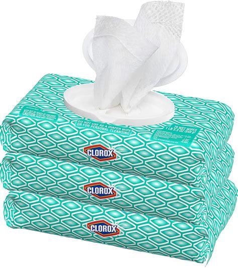 update   stock clorox disinfecting wipes  pack  packs     total