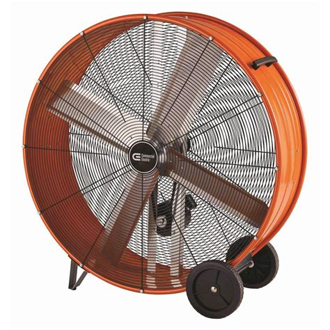 home depot barrel fan commercial electric 42 in heavy duty belt drive drum fan