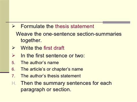formulating a thesis formulating a thesis statement 28 images literature of