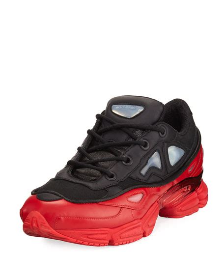 Raf Simons Designer Shoes by Adidas By Raf Simons S Ozweego Iii Trainer Sneaker Black