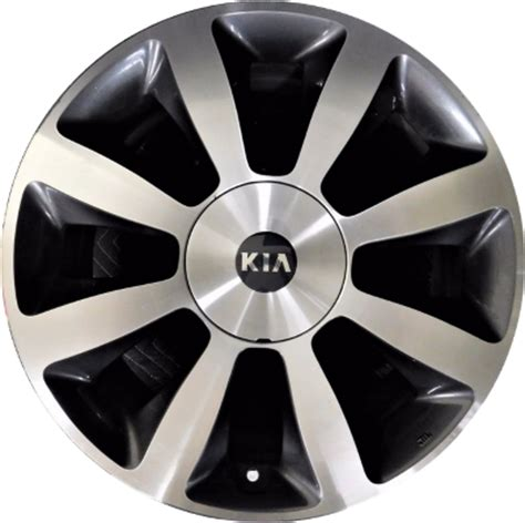 Kia Optima Wheel Bolt Pattern Aly74653 Kia Optima Wheel Charcoal Machined 529102t650