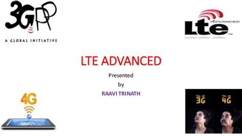 lte tutorial powerpoint lte advanced ppt