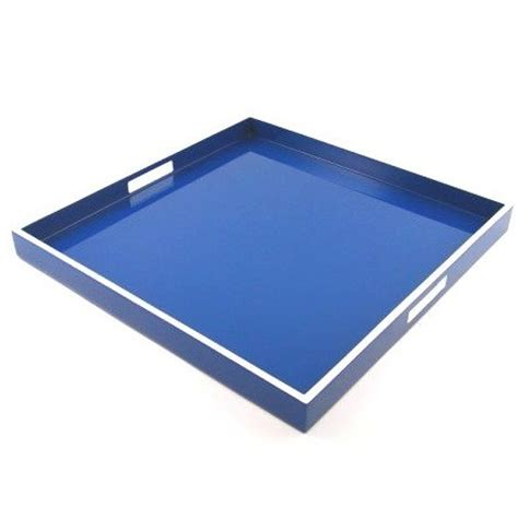 large square tray for ottoman blue tray blue trays large tray large trays modern