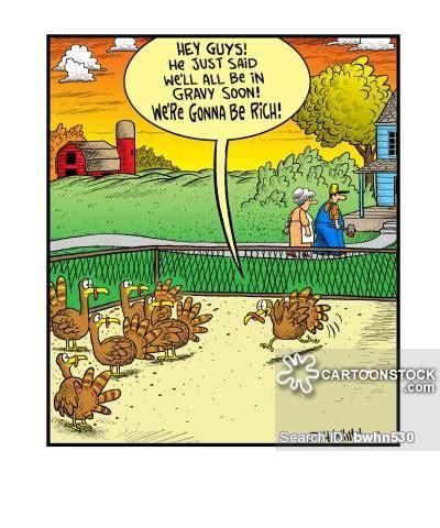 gravy boat joke turkey farm cartoons and comics funny pictures from