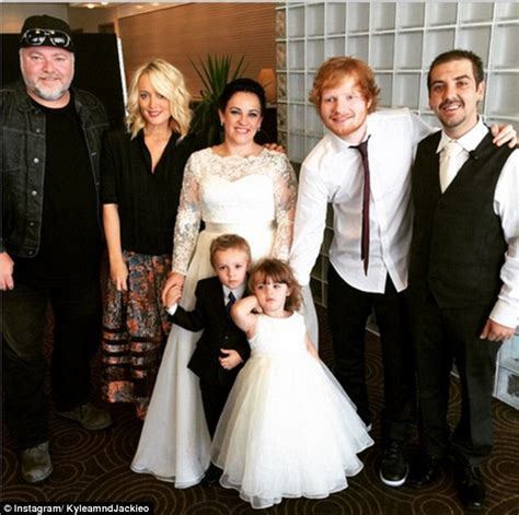 Ed Sheeran Wedding Song List by Ed Sheeran Hangs Out With Oliver Reece Mastin And