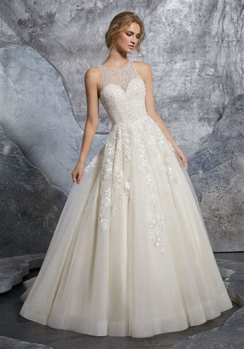 Bridal Dresses - kiara wedding dress style 8215 morilee