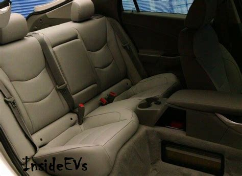 Back Seat by Exclusive Images Of 2016 Chevrolet Volt Rear Seat