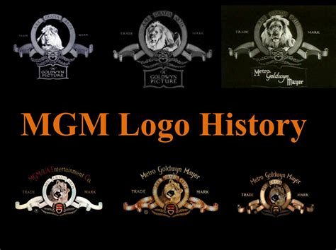 history of logo mgm logo history