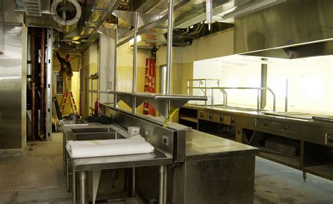 preparation kitchen the galley food prep area