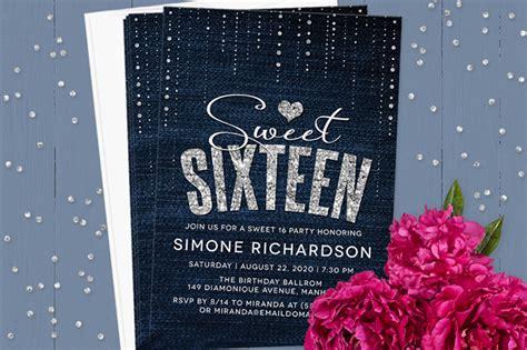 Sweet 16 Invitation Wording Sweet 16 Invitations Templates