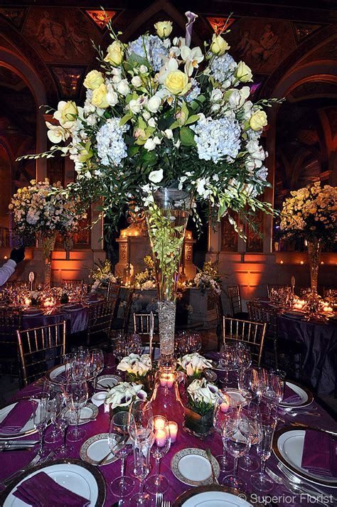 Center Wedding Flowers by Superior Florist Event Florals Centerpieces