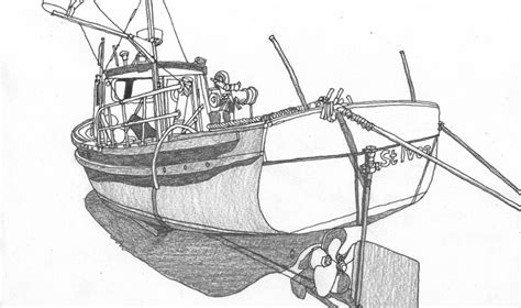fishing boat drawing easy one day like this quick fishing boat drawing st ives