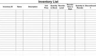 ready to use excel stock inventory list and management