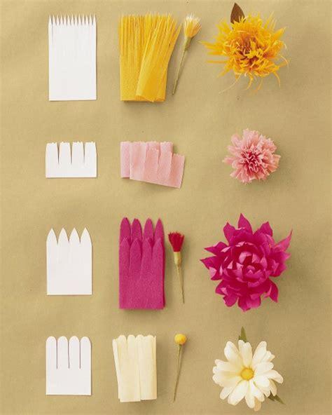 Papier Crepon Deco by Comment Cr 233 Er Une Fleur En Papier Cr 233 Pon D 233 Coration