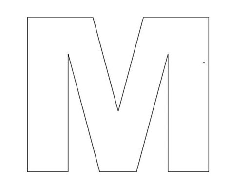 alphabet letter m template for kids jpg 2 200 215 1 800 pixels