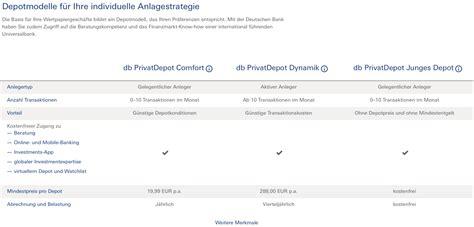 deutsche bank junges konto deutsche bank konto aufl 246 sen musterdepot er 246 ffnen