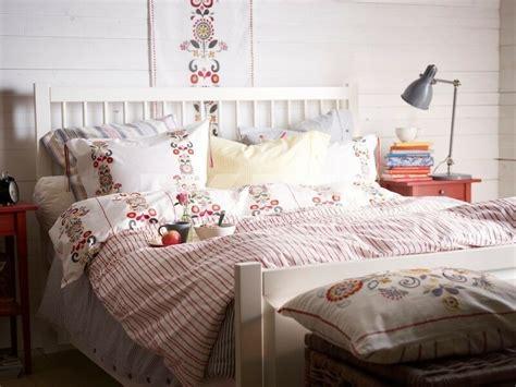 akerkulla duvet cover  pillowcases floral pattern  white ikea bedlinen ebay