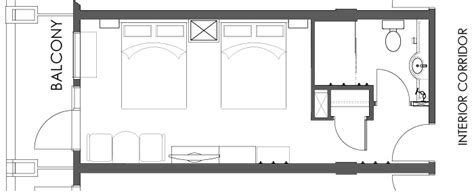 Floor Plans With Hidden Rooms Superior Hotel Room Moose Hotel Amp Suites