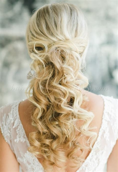 Half Up Half Wedding Hairstyles For Hair by Half Up Wedding Hairstyles Half Up Wedding Hairstyle