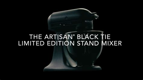 black tie stand mixer artisan 174 black tie limited edition stand mixer