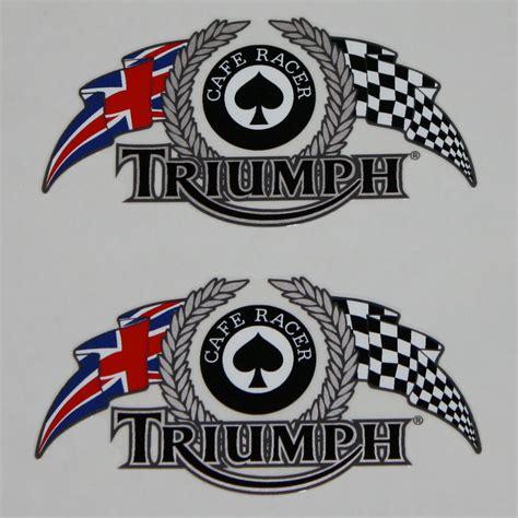 Aufkleber Triumph Logo by Triumph Custom Parts