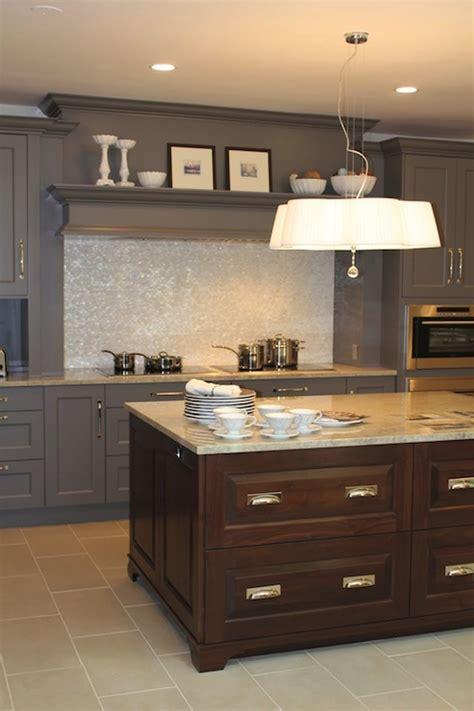 Chocolate Brown Kitchen Cabinets by Chocolate Kitchen Island Design Ideas