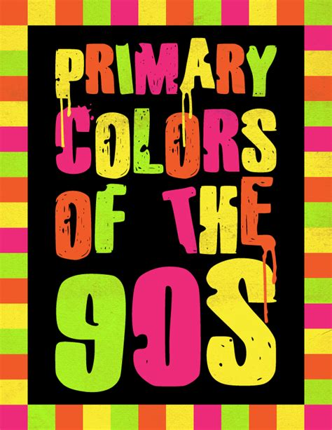 90s colors metateens 90s color schemes