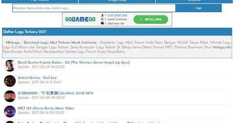 download mp3 indo hitslagu info tempat download lagu mp3 terbaru gratis