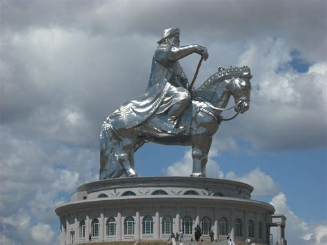 genghis khan equestrian statue wikipedia thursday open thread threedonia com