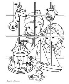 toy shop colouring pages coloring