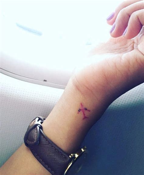 small plane tattoo 30 amazing airplane tattoos for who to travel
