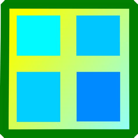 clipart windows window clip at clker vector clip