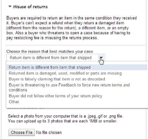 ebay return policy ebay hassle free returns step by step the ebay community