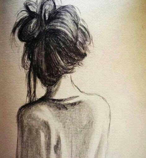 sketches of hair messy hair drawing art pinterest my life this is me