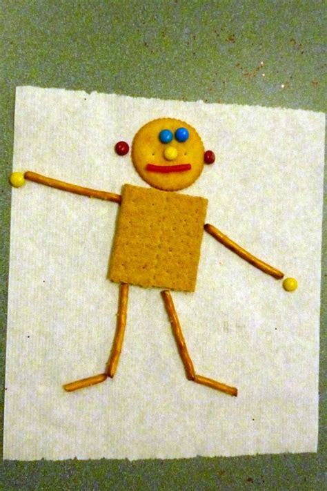 printable mat man shapes edible mat man preschool snack activities pinterest